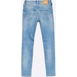 Tommy Hilfiger - Jeansy dziecięce 116-152 cm. Niebieskie jeansy dziewczęce TOMMY HILFIGER, z bawełny. W wyprzedaży za 179,90 zł.