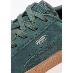 Puma BASKET CLASSIC WEATHERPROOF JR Tenisówki i Trampki green gables. Zielone trampki dziewczęce Puma, z materiału. W wyprzedaży za 174,85 zł.