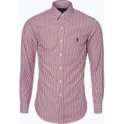 Polo Ralph Lauren - Koszula męska – Slim Fit, czerwony. Czerwone koszule męskie na spinki Polo Ralph Lauren, l, z haftami, polo. Za 499,95 zł.
