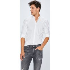 Selected - Koszula. Niebieskie koszule męskie na spinki marki bonprix, m, z nadrukiem, z klasycznym kołnierzykiem, z długim rękawem. Za 219,90 zł.