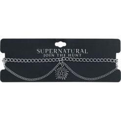 Naszyjniki damskie: Supernatural Double Chain Naszyjnik srebrny