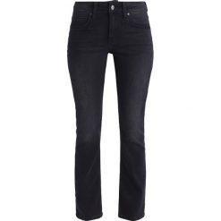 Odzież damska: Mustang SISSY  Jeansy Straight Leg black denim