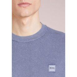 BOSS CASUAL KALASSY Sweter open blue. Niebieskie swetry klasyczne męskie BOSS Casual, m, z bawełny. Za 579,00 zł.