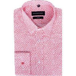Koszula SIMONE KDWS000196. Różowe koszule męskie na spinki Giacomo Conti, na jesień, m, z materiału, z klasycznym kołnierzykiem. Za 199,00 zł.
