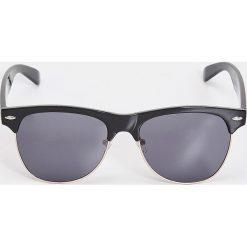 Okulary przeciwsłoneczne clubmaster - Czarny - 2