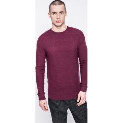 Kensington - Sweter. Brązowe swetry klasyczne męskie Kensington, m, z dzianiny, z okrągłym kołnierzem. W wyprzedaży za 59,90 zł.