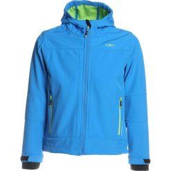 CMP BOY JACKET FIX HOOD Kurtka z polaru regata/gecko. Niebieskie kurtki dziewczęce sportowe marki CMP, z elastanu. W wyprzedaży za 152,10 zł.
