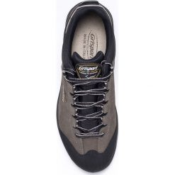 Grisport - Buty. Czarne buty trekkingowe męskie Grisport, na zimę, z materiału, na sznurówki, outdoorowe. W wyprzedaży za 319,90 zł.