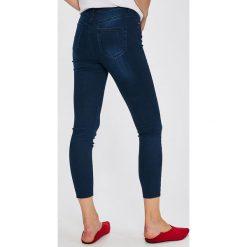 Trendyol - Jeansy. Niebieskie jeansy damskie rurki marki Trendyol, z bawełny. W wyprzedaży za 89,90 zł.