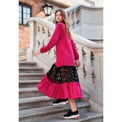 Fuksjowa Sukienka Margot - Limited Edition. Szare długie sukienki other, m. Za 299,99 zł.