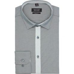 Koszula bexley 1560 długi rękaw slim fit zielony. Szare koszule męskie slim marki Recman, na lato, l, w kratkę, button down, z krótkim rękawem. Za 89,99 zł.