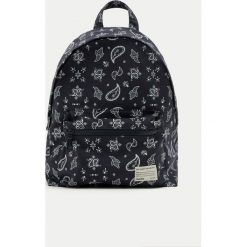 Plecaki damskie: Plecak z materiału z nadrukiem