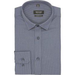 Koszula versone 2637 długi rękaw custom fit granatowy. Niebieskie koszule męskie Recman, m, z długim rękawem. Za 139,00 zł.