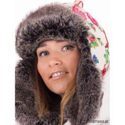 Etno czapka zimowa. Brązowe czapki zimowe damskie Pakamera. Za 180,00 zł.