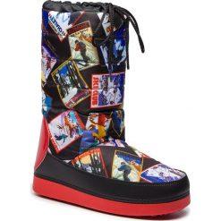 Śniegowce LOVE MOSCHINO - JA24092G06JO0000 Nero. Czarne buty zimowe damskie Love Moschino, z materiału. Za 589,00 zł.