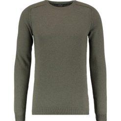 FTC Cashmere Sweter green smoke. Zielone swetry klasyczne męskie FTC Cashmere, m, z kaszmiru. W wyprzedaży za 677,40 zł.