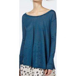 """T-shirty damskie: Koszulka """"Landway"""" w kolorze niebiesko-czarnym"""