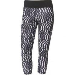 Legginsy damskie do fitnessu: Adidas Legginsy d2m 3/4 Tigh p2 Print/Black M