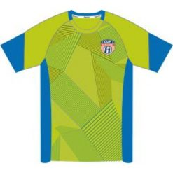 T-shirty chłopięce: Huari Koszulka juniorska Plata Kids T-shirt Tender Shoots/ French Blue  r. 116