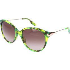 """Okulary przeciwsłoneczne damskie aviatory: Okulary przeciwsłoneczne """"0007/S 3JW"""" w kolorze limonkowym"""