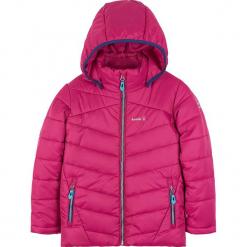 Kurtka narciarska w kolorze różowym. Czerwone kurtki dziewczęce przeciwdeszczowe Kamik. W wyprzedaży za 215,95 zł.