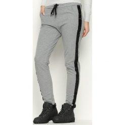 Spodnie dresowe damskie: Ciemnoszare Spodnie Dresowe Comfy