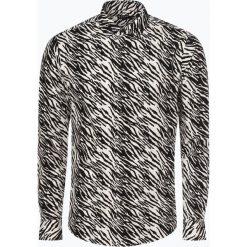 Tiger of Sweden - Koszula męska – Farrell 4, czarny. Brązowe koszule męskie marki Tiger of Sweden, m, z wełny. Za 589,95 zł.