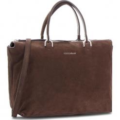 Torebka COCCINELLE - CI1 Keyla Suede E1 CI1 18 01 01 Ebano W00. Brązowe torebki klasyczne damskie marki Coccinelle, ze skóry. Za 1499,90 zł.