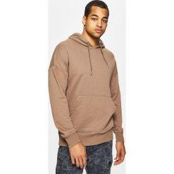 Bluzy męskie: Bluza z kapturem basic – Beżowy
