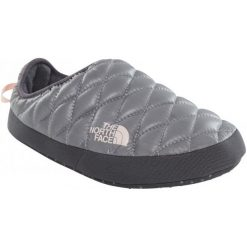 Kapcie damskie: The North Face Kapcie W Thermoball Tent Mule Iv Shiny Frost Gre Xs