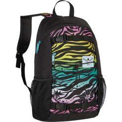 """Plecak """"Base"""" w kolorze czarnym ze wzorem - 30 x 48 x 17 cm. Czarne plecaki męskie Chiemsee Bags, w paski. W wyprzedaży za 108,95 zł."""