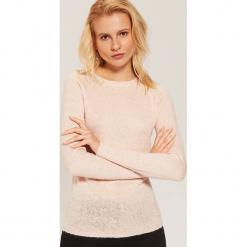 Sweter ze sztucznymi perłami - Różowy. Czerwone swetry klasyczne damskie House, l. Za 59,99 zł.