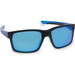 Okulary przeciwsłoneczne OAKLEY - Mainlink OO9264-2557 Matte Black/Sapphire/Prizm Sapphire Polarized. Czarne okulary przeciwsłoneczne męskie aviatory Oakley, z tworzywa sztucznego. W wyprzedaży za 719,00 zł.