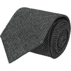 Krawaty męskie: krawat platinum czarny classic 202