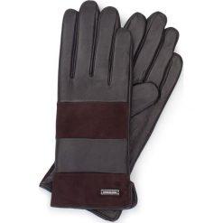 Rękawiczki damskie 39-6-576-BB. Brązowe rękawiczki damskie marki Wittchen, z polaru. Za 149,00 zł.