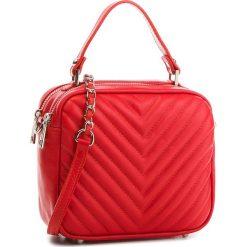 Torebka CREOLE - K10532  Czerwony Corallo. Czerwone torebki klasyczne damskie Creole, ze skóry. W wyprzedaży za 179,00 zł.