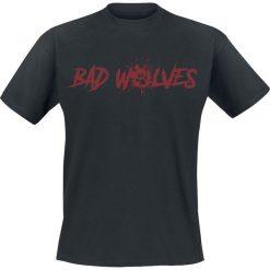 Bad Wolves Paw Logo T-Shirt czarny. Niebieskie t-shirty męskie z nadrukiem marki Reserved, l, z okrągłym kołnierzem. Za 74,90 zł.