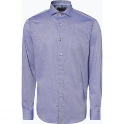 Finshley & Harding - Koszula męska, niebieski. Czarne koszule męskie na spinki marki Finshley & Harding, w kratkę. Za 149,95 zł.
