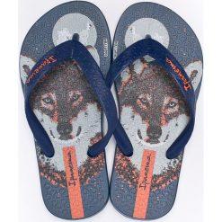 Ipanema - Japonki dziecięce. Szare sandały chłopięce Ipanema, z gumy. W wyprzedaży za 49,90 zł.