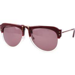 """Okulary przeciwsłoneczne damskie aviatory: Okulary przeciwsłoneczne """"JC745S 71J"""" w kolorze brązowym"""