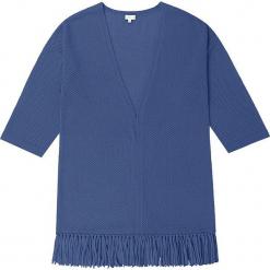 Kardigan kaszmirowy w kolorze granatowym. Niebieskie kardigany damskie marki Ateliers de la Maille, z kaszmiru. W wyprzedaży za 591,95 zł.