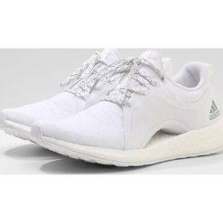 Buty damskie: adidas Performance PUREBOOST X Obuwie do biegania treningowe white/silver metallic/core black