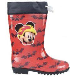 Disney Kalosze Chłopięce Myszka Miki 23 Czerwone. Czerwone kalosze chłopięce Disney. Za 69,00 zł.