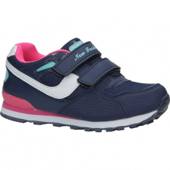 Granatowe buty sportowe na rzepy Casu FA325L. Szare buciki niemowlęce marki Casu, na rzepy. Za 59,99 zł.