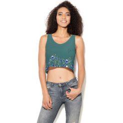 Colour Pleasure Koszulka damska CP-035 251 zielona r. XS-S. Bralety Colour pleasure, s. Za 64,14 zł.