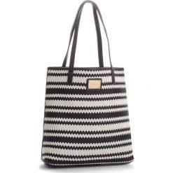 Torebka MONNARI - BAG3310-013 Navy With White. Szare torebki klasyczne damskie marki Monnari, z materiału, średnie. W wyprzedaży za 139,00 zł.