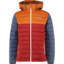Columbia POWDER LITE Kurtka zimowa red element/bright copper. Czerwone kurtki sportowe męskie Columbia, na zimę, m, z materiału. Za 529,00 zł.