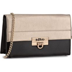 Torebka NOBO - NBAG-D0161-C023 Czarny Ze Złotym. Czarne torebki klasyczne damskie Nobo, ze skóry ekologicznej. W wyprzedaży za 119,00 zł.