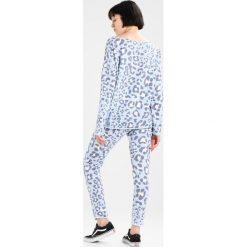 Bluzy rozpinane damskie: Juvia LEOPARD  Bluza blue