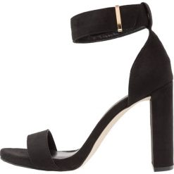 Sandały damskie: New Look STUNT Sandały na obcasie black